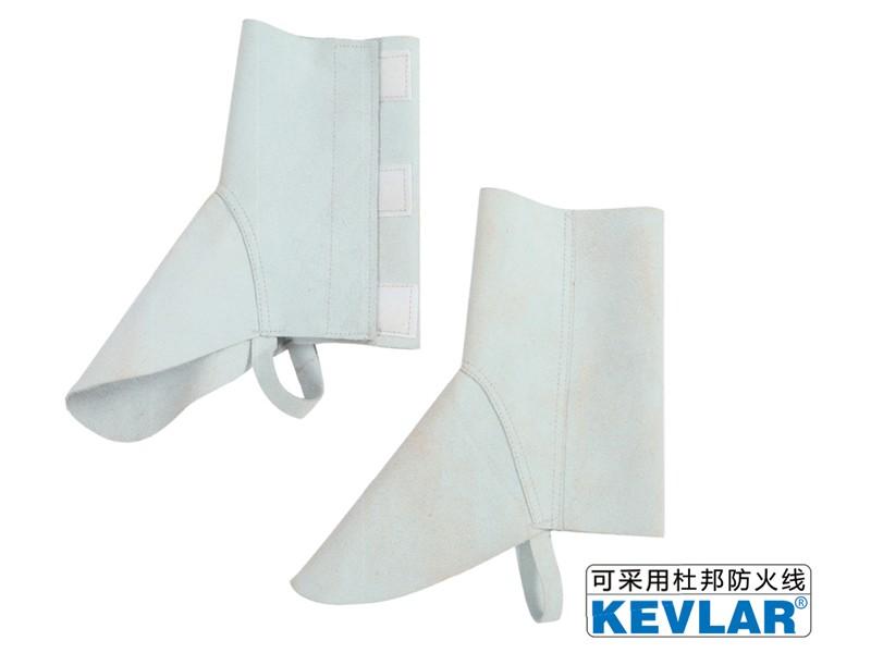 白色反绒皮短护脚LBC-4-4(短款)