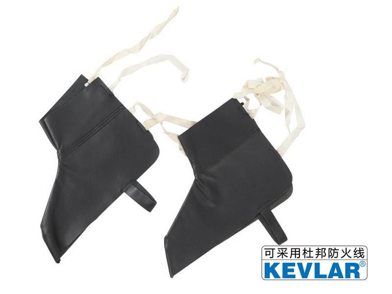 黑色亮面短护脚LBC-2(短款)