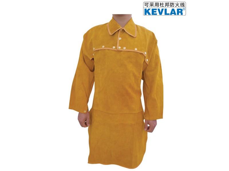 金黄色皮反穿衣LBA-23