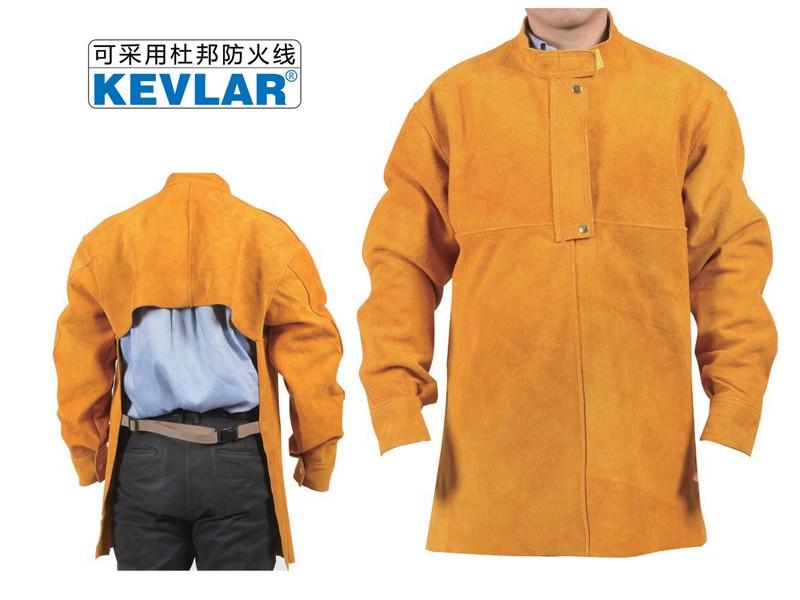 金黄色皮反穿衣LBA-15
