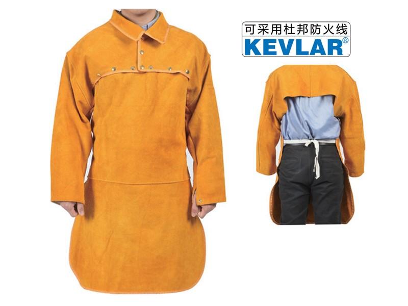 金黄色皮反穿衣LBA-12