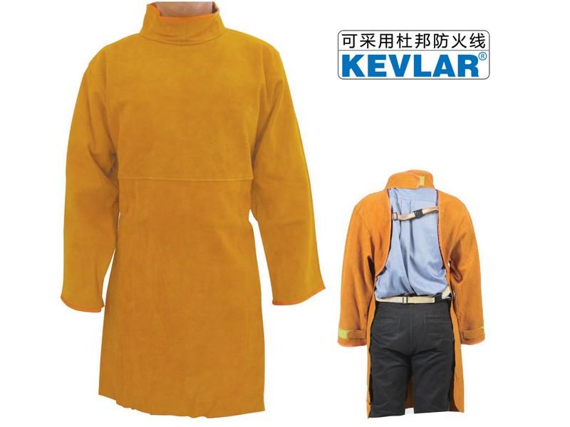 金黄色皮反穿衣LBA-11