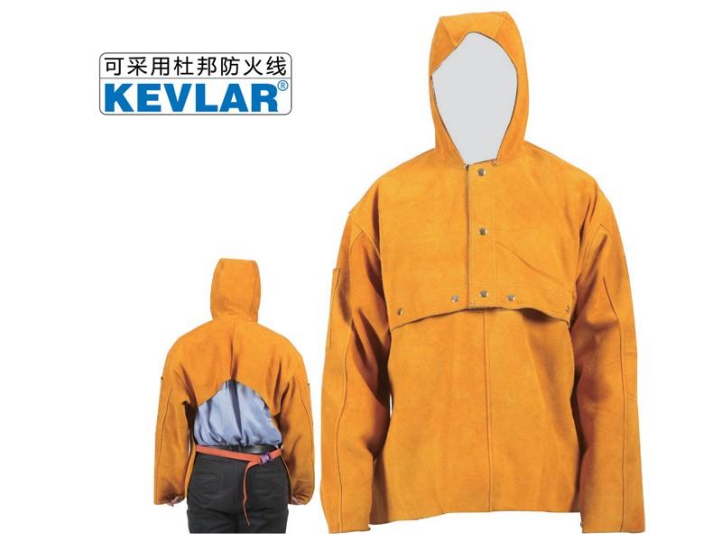 金黄色皮反穿衣LBA-4