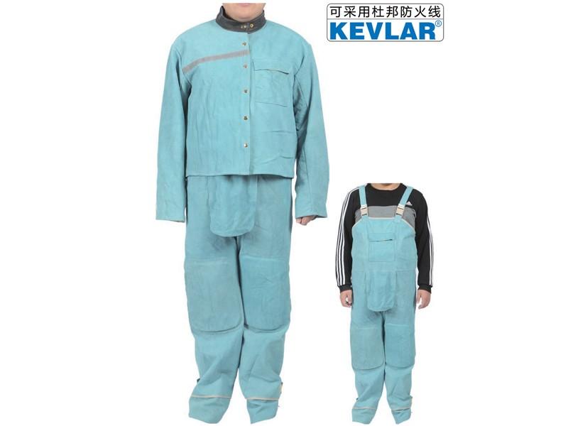 蓝色皮焊服LBA-8-9