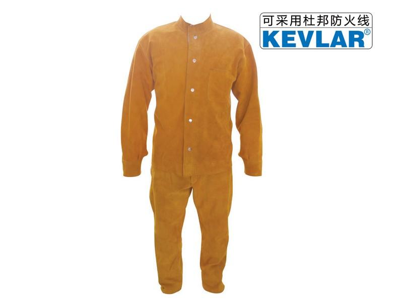 金黄色皮反穿衣LBA-7