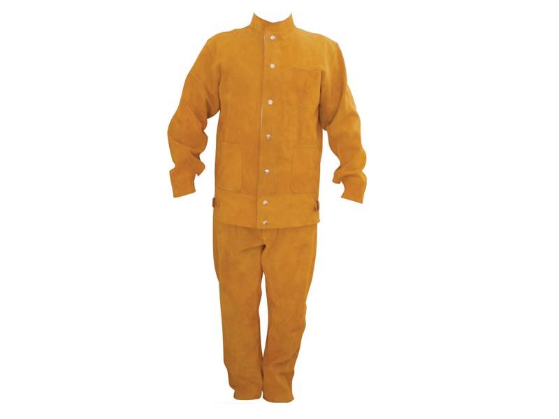 金黄色皮焊服LBA-1